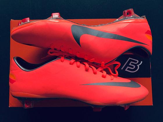 Nike Mercurial Vapor VIII MANGO / GREY Football Boots - FG Size UK 8