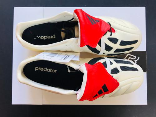 ae0e71a49ad1 adidas Predator Mania FG Champagne - Off White/Core Black/Red UK Size 10