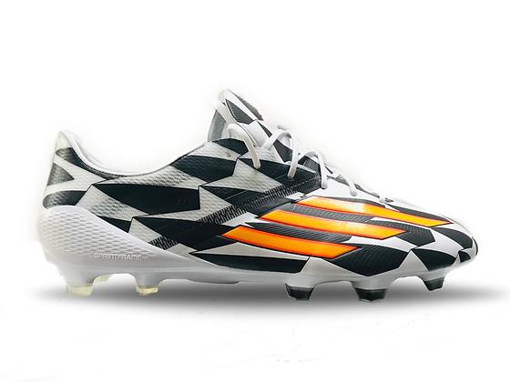 adidas F50 Adizero FG World Cup 2014 Running White / Neon Orange / Black