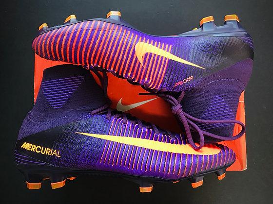 Nike Mercurial Superfly V FG Floodlights Pack Purple Dynasty / Bright Orange