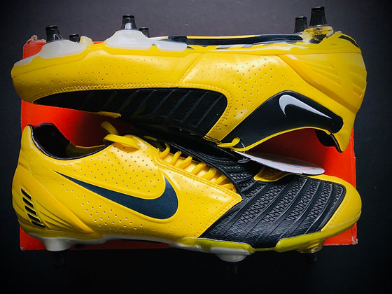 Nike T90 Laser II Tour Yellow / Black / Midnight Fog SG Limited Edition
