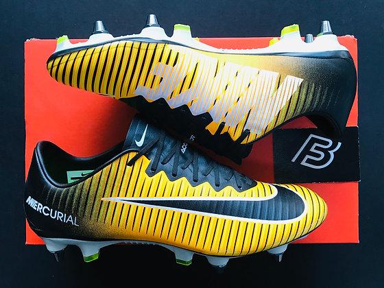 """Nike Mercurial Vapor XI SG """"Lock In Let Loose"""" - Laser Orange UK Size 7"""