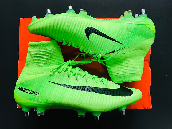 Nike Mercurial Superfly V SG Radiation Flare - Electric Green - UK Size 9.5