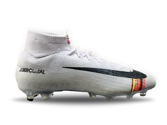 Nike Mercurial 360 Superfly VII Elite LVL UP White / Black / Platinum AG-Pro