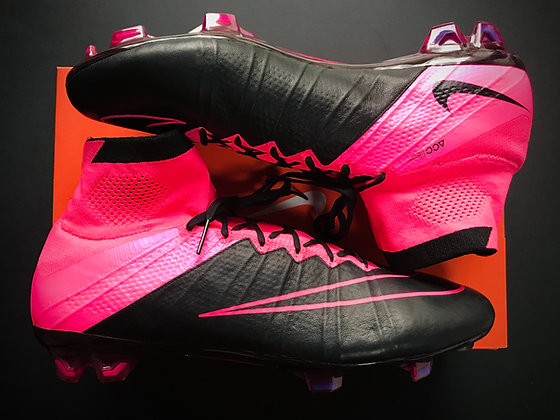 Nike Mercurial Superfly IV Tech Craft Leather Hyperpink / Black FG