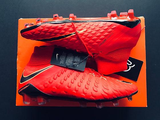 "Nike Hypervenom Phantom III DF ""Play Fire"" University Red/Black Various Sizes"