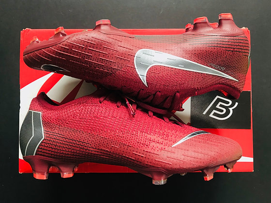 Nike Mercurial Vapor 12 Elite FG Rising Fire - Red / Grey / Crimson UK Size 8.5