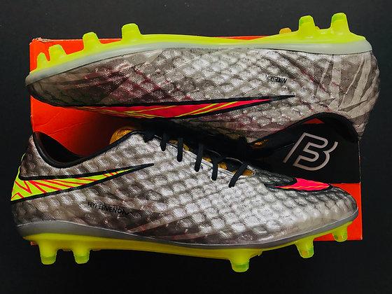 Nike Hypervenom Phantom I Silver Liquid Diamond FG UK 7.5 Neymar SE