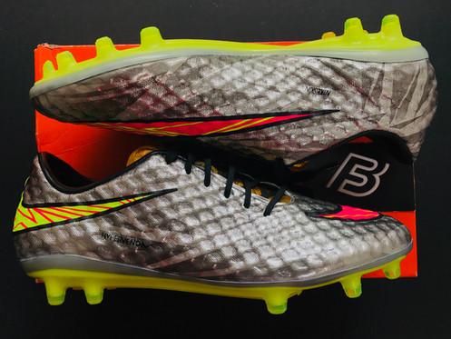 huge selection of 778dd 5bc21 Nike Hypervenom Phantom I Silver Liquid Diamond FG UK 7.5 Neymar SE