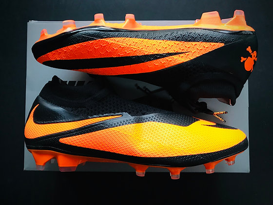 Nike Phantom Vision 2 Elite DF FG Future DNA Black / Bright Citrus Limited Ed