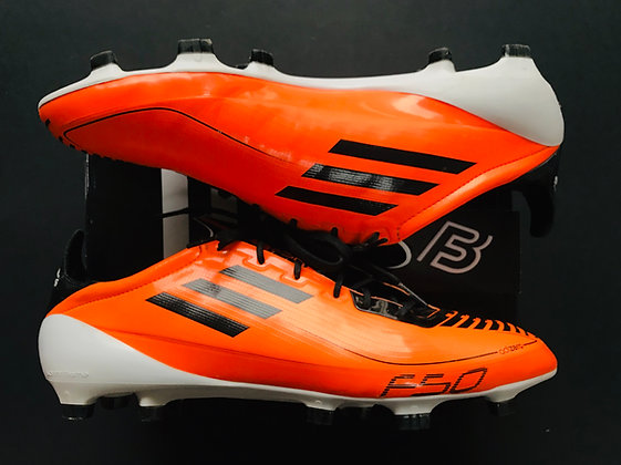 adidas F50 adizero II Warning Orange / Black / White FG UK Size 11