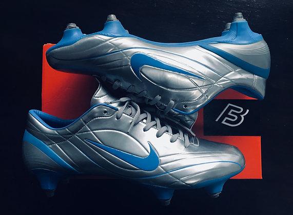 Nike Mercurial Vapor II R9 Silver Chrome Photo Blue Size UK 10 - SG