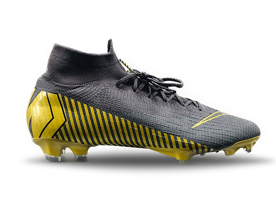 """Nike Mercurial Superfly Elite FG """"Game Over"""" - Grey / Yellow"""
