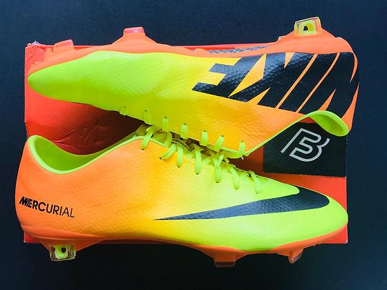 Nike Mercurial Vapor IX Volt / Black / Bright Citrus FG