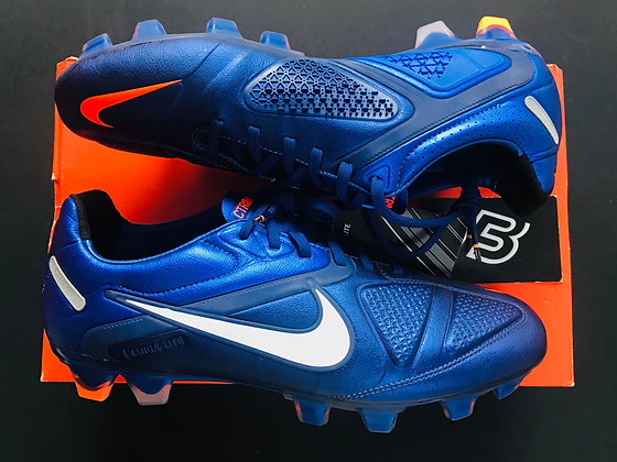 Nike CTR360 Maestri II FG Loyal Blue/Total Orange UK Size 8