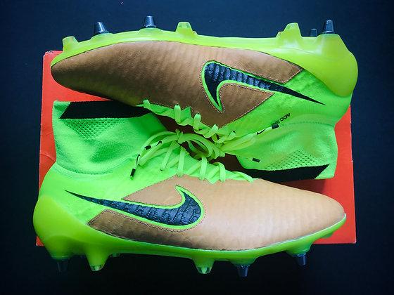 Nike Magista Obra SG Pro Tech Craft Leather Canvas / Volt