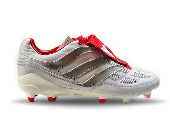 adidas Predator Precision David Beckham White / Silver / Red FG