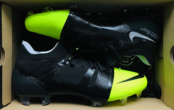 """Nike Mercurial GS 360 """"Green Speed"""" Limited Edition - Size UK 9 FG"""