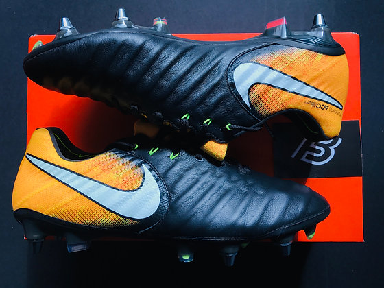 "Nike Tiempo Legend VII ""Lock in Let Loose"" Orange Black SG Pro"