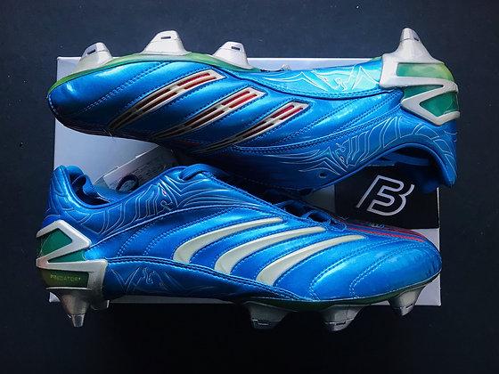 adidas Predator Absolute David Beckham Blue XTRX SG UK Size 11