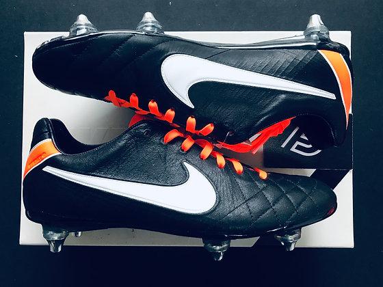 Nike Tiempo IV Elite BLACK / TOTAL ORANGE / WHITE SG
