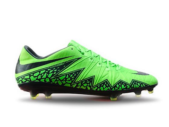 Nike Hypervenom Phinish FG Green Strike / Black
