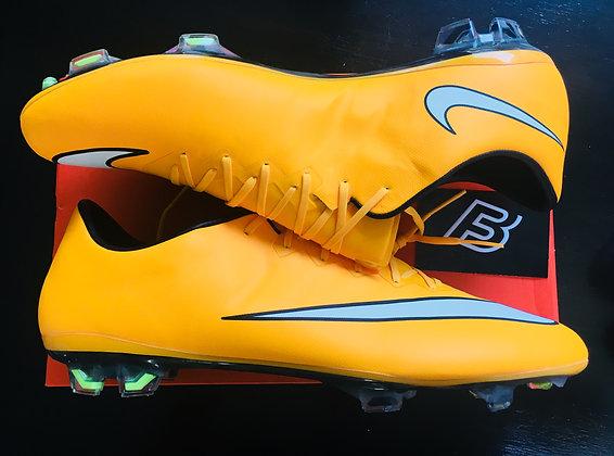 Nike Mercurial Vapor X Laser Orange FG Size UK 9