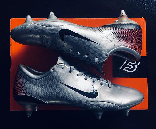 Nike Mercurial Vapor III Silver Edition UK Size 9 Ultra Rare SG