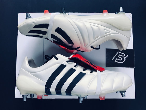 adidas Predator Mania SG Champagne Off White / Core Black/Red UK Size 11