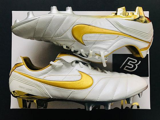 Nike 10R Tiempo Legend 7 Elite - White / Gold FG