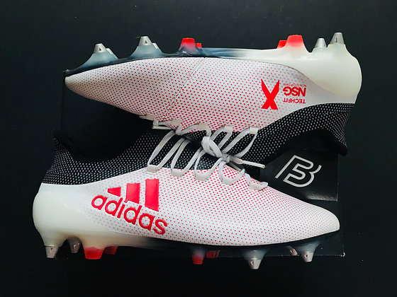 adidas X 17.1 SG Grey-Real Coral-Core Black UK Size 10