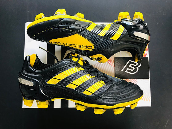 adidas Predator X World Cup - Black / Sun Yellow FG UK Size 7