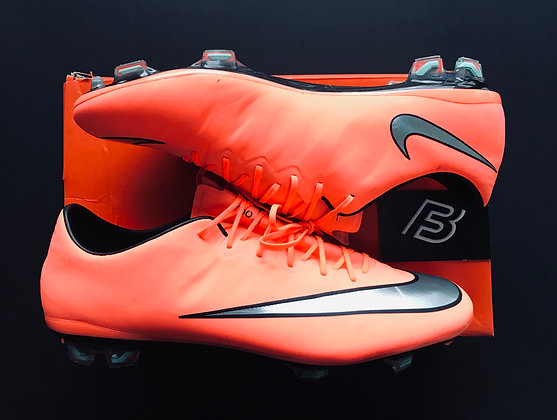 "Nike Mercurial Vapor X ""Metal Flash - Bright Mango"" UK 10 FG"