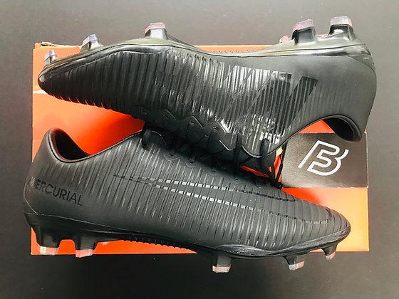 Nike Mercurial Vapor XI FG Academy Pack - Black/Black UK Size 9