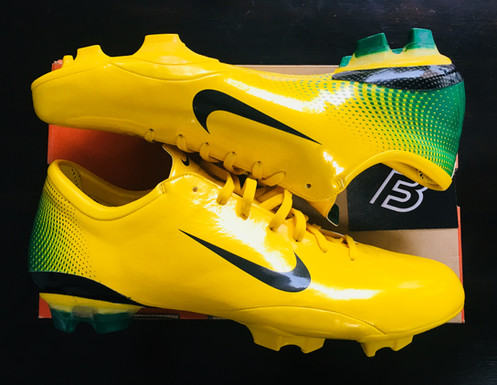 best website 54800 7dc54 Nike Mercurial Vapor III Samba Brazil R9 Edition UK Size 11 Ultra Rare