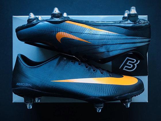 Nike Mercurial Superfly II Elite SG Black / Circuit Orange