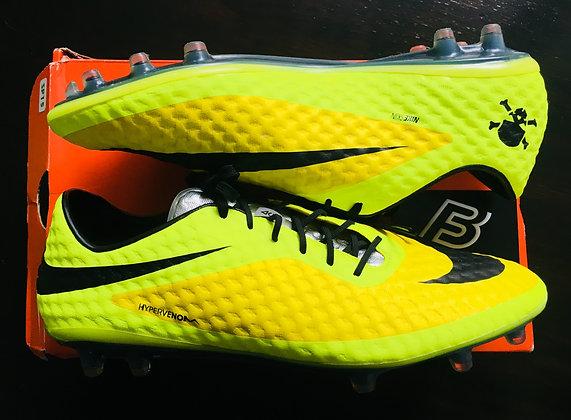Nike Hypervenom Phantom I Yellow / Silver FG UK 11