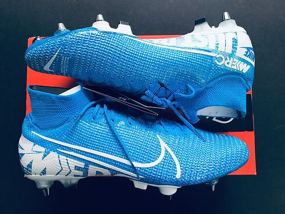 Nike Mercurial Superfly 7 Elite SG-PRO New Lights - Blue Hero/White
