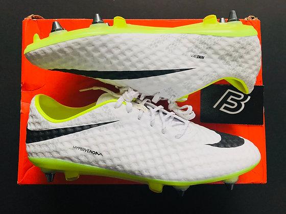 """Nike Hypervenom Phantom I White / Black-Volt """"Reflective"""" SG Pro"""