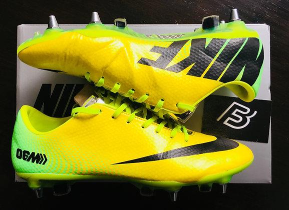 Nike Mercurial Vapor IX 06M R9 Samba Yellow UK Size 7.5 SG