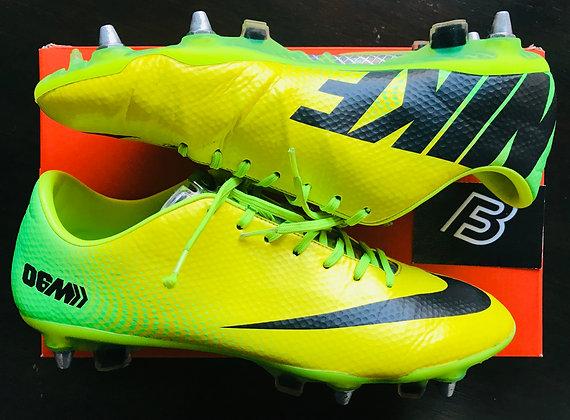 Nike Mercurial Vapor IX 06M R9 Samba Yellow UK Size 9.5 SG