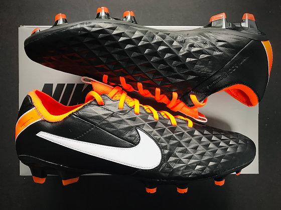 "Nike Tiempo Legend VIII ""Future DNA Pack"" Orange / Black FG"