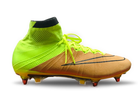 Nike Mercurial Superfly Leather Tech Craft SG Pro Canvas / Black / Volt