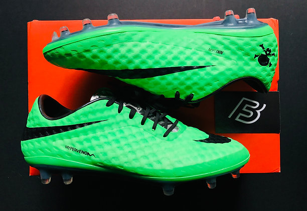 Nike Hypervenom Phantom I Neo Green FG UK 6.5