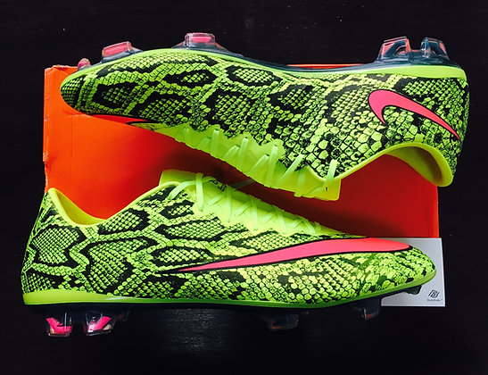 Nike Mercurial Vapor X Snakeskin Boots by Graffia Studio – One of a kind UK 11