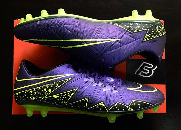 Nike HyperVenom Phinish II FG Purple Volt