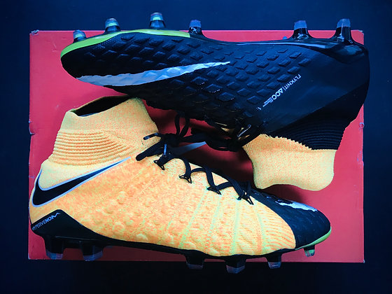 """Nike Hypervenom Phantom 3 DF FG """"Let Loose"""" Pack Laser Orange / White / Black"""