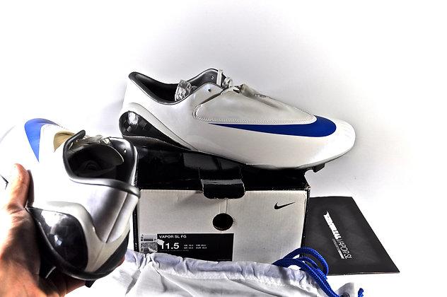 Nike Mercurial Vapor SL FG White Blue Spark Size UK 10.5