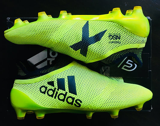 Adidas X 17+ Purespeed FG Boots - Solar Yellow Size UK 8.5