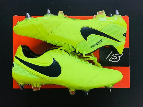 Nike Tiempo Legend VI SG-PRO Volt/Black UK Size 8